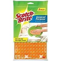 Scotch-Brite Kitchen Wipe 5-Count (Pack of 12)