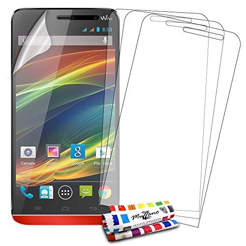 tablet wiko MUZZANO - Set di 3 pellicole protettive per display ultra trasparenti