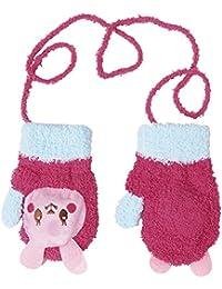 26375839badc CHIC-CHIC Moufles Gants Chauds Bébé Filles Garçons Toddler Enfants Tricot  Animal Mignons