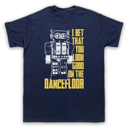 Arctic Monkeys I Bet That You Look Good On The Dance Floor Herren T-Shirt, Ultramarinblau, 3XL (T-shirt Gun-erwachsenen)