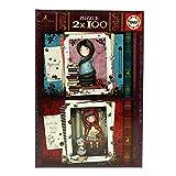 Educa Borrás Gorjuss Puzzle 2X100 Little Red Riding Hood (17822)