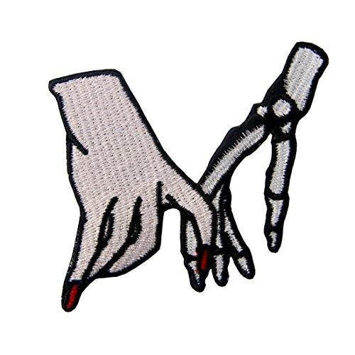 Parche termoadhesivo para la ropa, diseño de Mano con el...