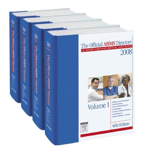 The Official ABMS Directory of Board Certified Medical Specialists por ABMS