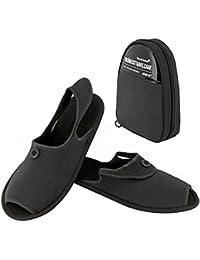 Travelmall pantofole unisex portatile pieghevole da viaggio antiscivolo  pantofole pieghevole spiaggia scarpe con custodia da trasporto 9c2abffaa2c