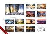 Die Kunst der Fotografie - Landschaft 2018 - Bildkalender quer (50 x 34) - Landschaftskalender - Naturkalender - ALPHA EDITION