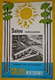 FOLLETO TURÍSTICO : SALOU - TARRAGONA (Tourist brochure).
