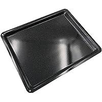 KOCHSTAR k1030ee placa a horno 41x 32x 2cm, esmalte, Negro, 41x 32x 2cm)