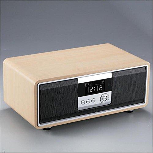 Bluetooth-Lautsprecher Drahtloser Spezieller Modus HIFI u. Fernsteuerungs Weizen Drahtloser K Lied 36W Hochleistungslautsprecher Subwoofer, Yellow