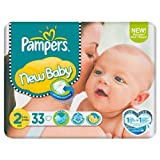 Pampers New Baby Größe 2 (3-6kg) Carry-Pack 33s 6 pack x 33 pro Packung
