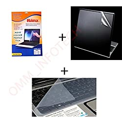 3 IN 1 Laptop Protection 15.6 INCH (Screen Protector + Back Protector + KeyPad Guard)