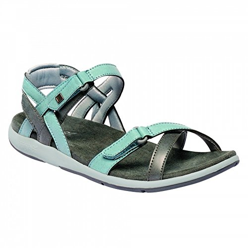 Regatta Great Outdoors Damen Sandalen Lady Santa Cruz (41 EU) (Stein Blau/Hell Blau) (41 Eu Sandalen)