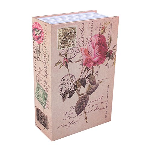 Caja de Seguridad Libro para Poner Joyas, Monedas, Dinero, Objetos de Valor 5#