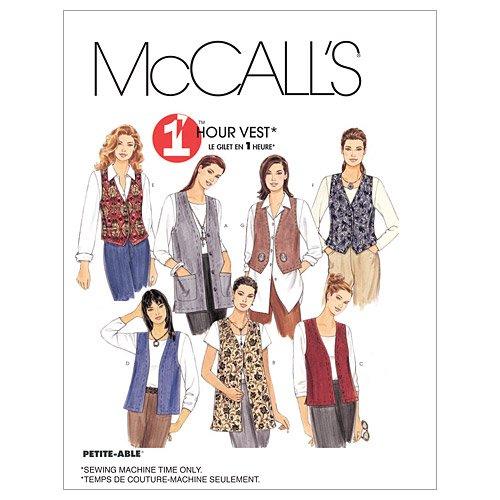 McCalls MC 2260 XXL(24 26) Schnittmuster zum Nähen, Elegant, Extravagant, Modisch, Sprachen: Englisch und Spanisch