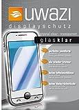uwazi Samsung GT-E1050 Glasschutz - Echt Glas Displayfolie gehärtet und passend für das GT-E1050