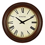 Hometime Libretto Vintage Style Wall Clock W7797