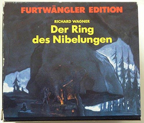 FURTWANGLER EDITION: WAGNER- Der Ring Des Nibelungen (Milan Scala 1950) - 12CD BOX SET / RARE 1989 HUNT EDITION