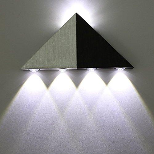 Lightess Lampada da Parete ad Alta Potenza a Led 5W, Luci Decorative...