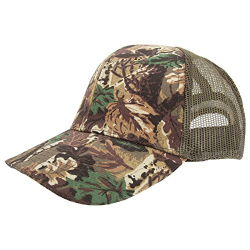 Casquette style camouflage - Adulte unisexe (59cm) (Camouflage)
