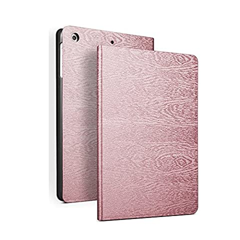 New iPad 2017/iPad Air/Air 2 universel Smart Case, Fansong Arbre Texured Série respirant magnétique ultra mince PU Cuir Smart Cover [antidérapant, support de maintien, fonction de veille] pour Apple New iPad 2017/iPad Air/Air 2