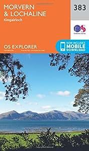 OS Explorer Map (383) Morvern and Lochaline (OS Explorer Paper Map) (OS Explorer Active Map)