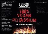 300 TABLETTEN - KALIUM / 100% Vegan Potassium Gluconat, Hochdosiert 643mg pro Tablette