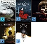 Conjuring Teil 1+2 + Annabelle Teil 1+2 + The Nun [DVD Set] 5 Filme