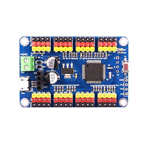 32-way Lenkgetriebe Control Panel Controller USB SERIAL PORT TTL Bluetooth Wireless Host-Computer App... Serial Port Control