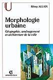 La morphologie urbaine...
