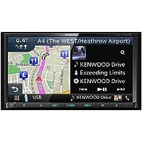 """Kenwood Electronics DNX7170DABS Fijo 6.95"""" LCD Pantalla táctil 2500g Negro navegador - Navegador GPS (Toda Europa, 17,6 cm (6.95""""), 800 x 480 Pixeles, LCD, Horizontal, Flash)"""