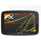 atFoliX Folie für Tomtom GO Basic (6 inch) Displayschutzfolie - 3 x FX-Antireflex-HD hochauflösende entspiegelnde Schutzfolie