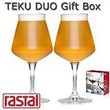 Rastal - TEKU 3.0 - Duo Gift Box - n° 2 Calici Universali Degustazione Birra Artigianale - capacità: 42,5 cl.