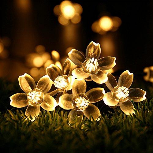 Flower Solar String Lights - REC...