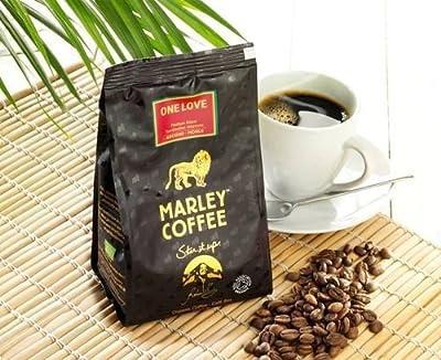 Marley Coffee One Love Medium Roast Whole Bean Coffee by Marley Coffee