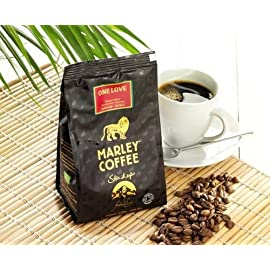Marley Coffee One Love Medium Roast Whole Bean Coffee