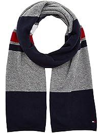 Tommy Hilfiger Block Stripe Scarf, Sciarpa Uomo, Multicolore (Corporate Clrs 901), Taglia Unica