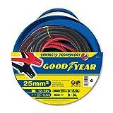 Goodyear 820410 cables de arranque cables puente 3,5m 25 mm² 12 / 24V 350AMP 5,5L gasolina - diesel 3L DIN 72553-25