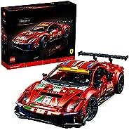 """LEGO 42125 Technic Ferrari 488 GTE """"AF Corse #51"""" Supersportwagen, Exklusives Sammlermodell, Sammlerset für Er"""