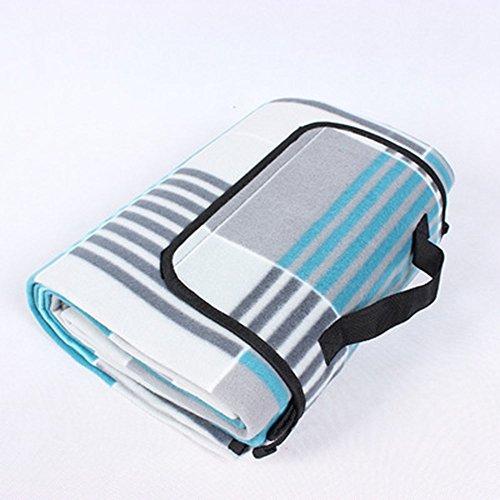FENG Einzelne Samt Picknick Matte Wildleder faltbaren kriecht vor matpicnic Decke Wasserdicht Extra Großen Outdoot Decke mit Einem unterstützung für Familie,300 * 300
