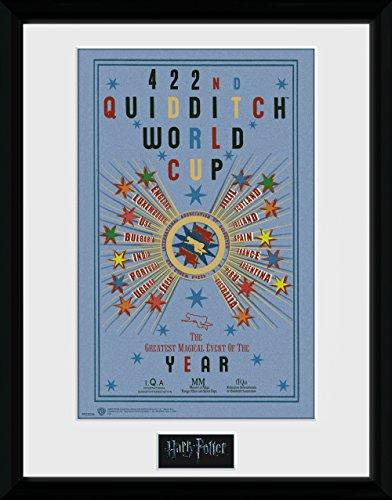 HARRY POTTER GB Eye LTD, Quidditch World Cup 2, Affiche encadrée 40 x 30 cm