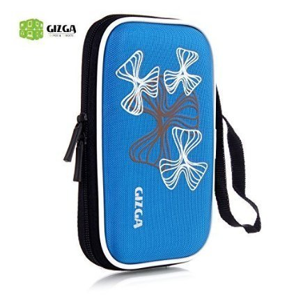 GIZGA 2.5″ HDD CASE Wavy Graffiti
