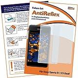 2x mumbi Displayschutzfolie Sony Xperia E1 / E1 Dual Schutzfolie AntiReflex matt