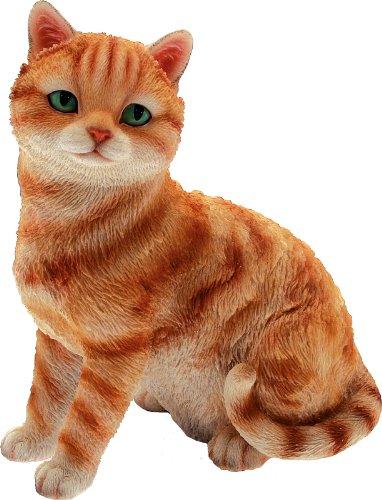 Chat tigré Ritto H.21 cm