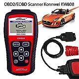 Best Diagnostics - KW808 OBD2 Scanner Diagnostic Scan Tool Vehicles Car Review