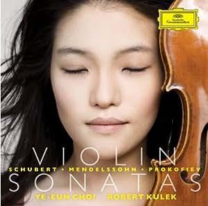 Classic CD, Mendelssohn, Schubert & Prokofiev: Violin Sonatas[002kr]