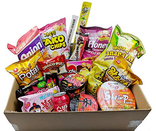 Korean Snack and Candy Box - Unbox Korean Treats Today! Seoul Box Deluxe