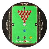 Bulls Snooker Tisch Dartscheibe Stahl Spitze