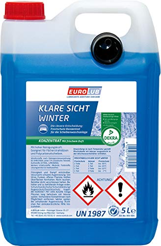 Eurolub Windshield Frost protection Clear vision Winter concentrate