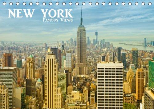 NEW YORK - Famous Views (Tischkalender 2014 DIN A5 quer): Bekannte Ansichten der grandiosen amerikanischen Metropole! (Tischkalender, 14 Seiten)