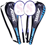 #8: Silver's Micro Badminton Racquets, 2 pieces with cover