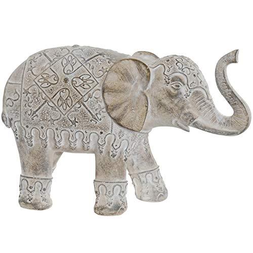 D,casa - Figura Elefante Resina Envejecido Decoracion